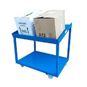 Mesa de trabajo inclinada porta cajas