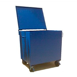 Contenedor de residuos Rodante de 750 litros metálico
